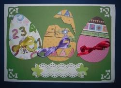 """Скрапбукинг """"Пасхальная открытка/Easter"""""""